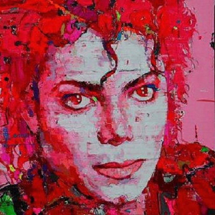 Michael Jackson Framed Art