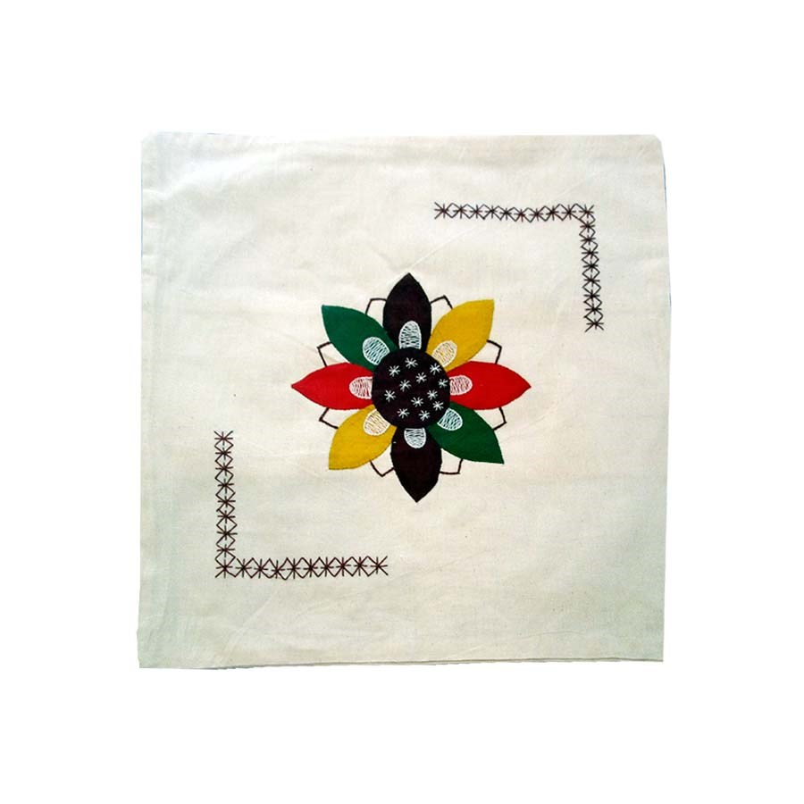 Patchwork Cushion Cover Hand Made Needle Design