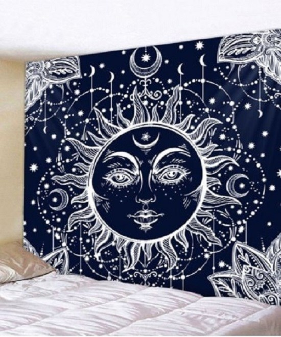 Fabric Wall Tapestry/Throw Mandala