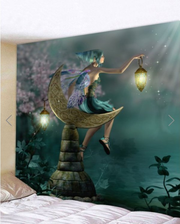 Fabric Wall Tapestry/Throw Fairy