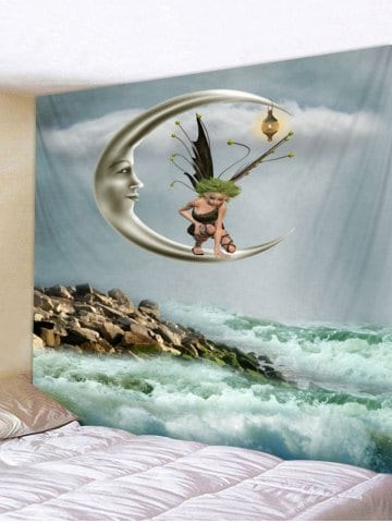 Fabric Wall Tapestry/Throw Night Fairy