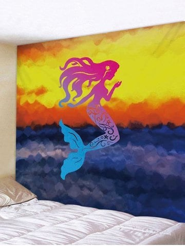 Fabric Wall Tapestry/Throw Mermaid