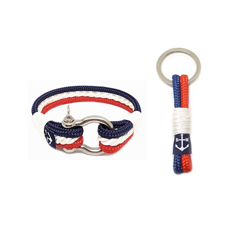 The Netherlands Nautical Bracelet and Keychain
