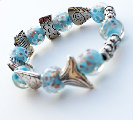 Greek Worry Fish Bracelet Stretch