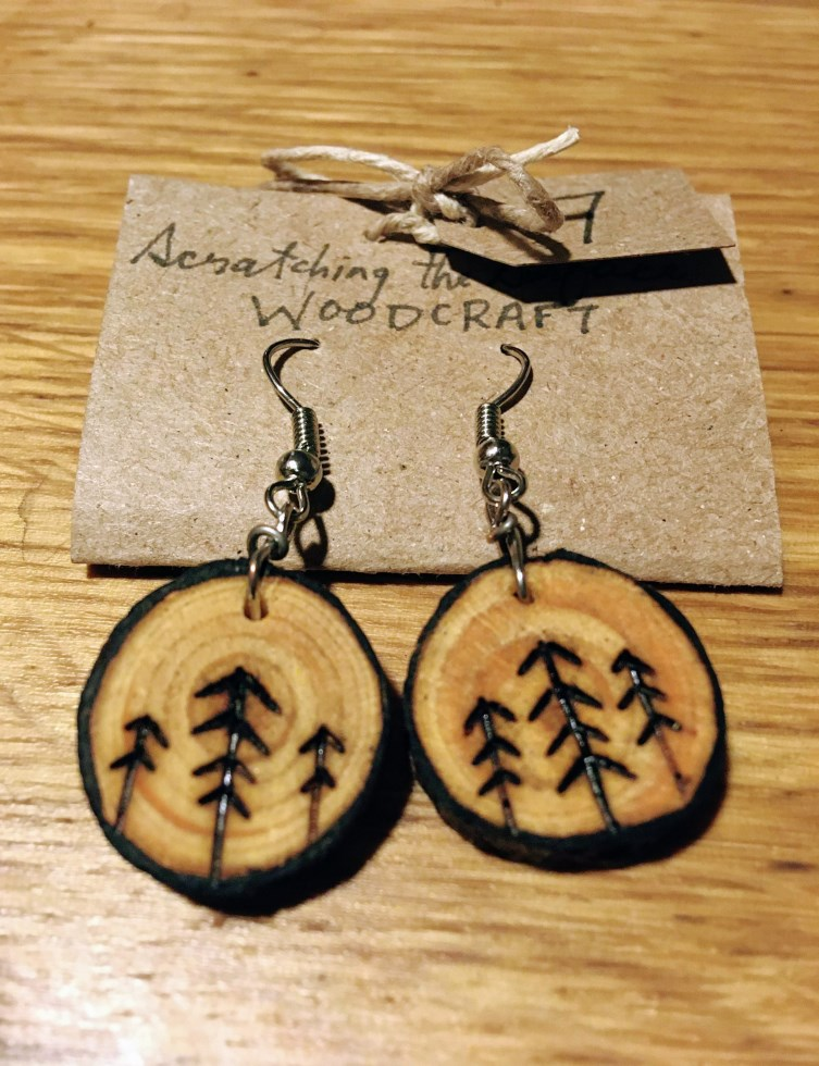 Three Trees Earrings