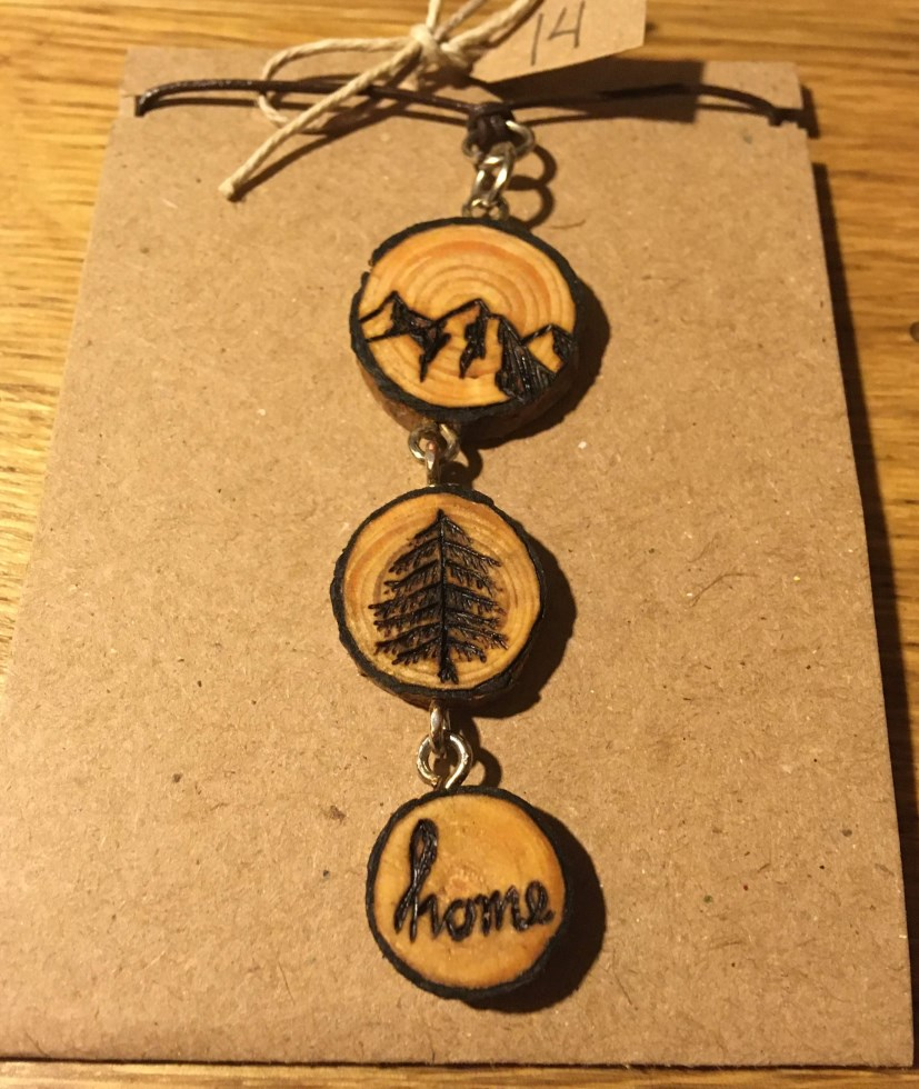 Recipe for Home Necklace