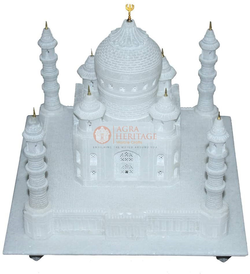 Replica Marvelous White Marble Agra Taj Mahal