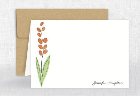 notecards customized