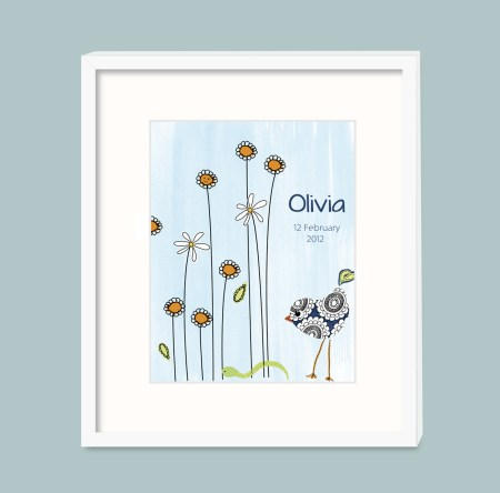 Personalized nursery Print
