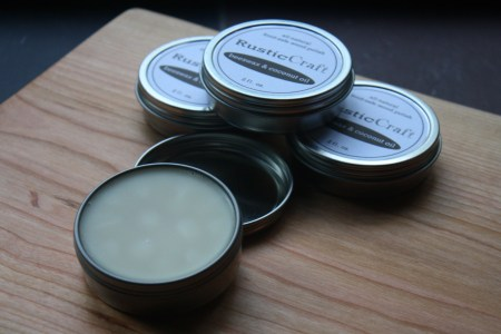 Organic Coconut Oil Beeswax Wood Butter