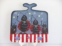 Lady Bug Mini Bread Board