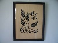 Framed Art- Tropical Fish 1