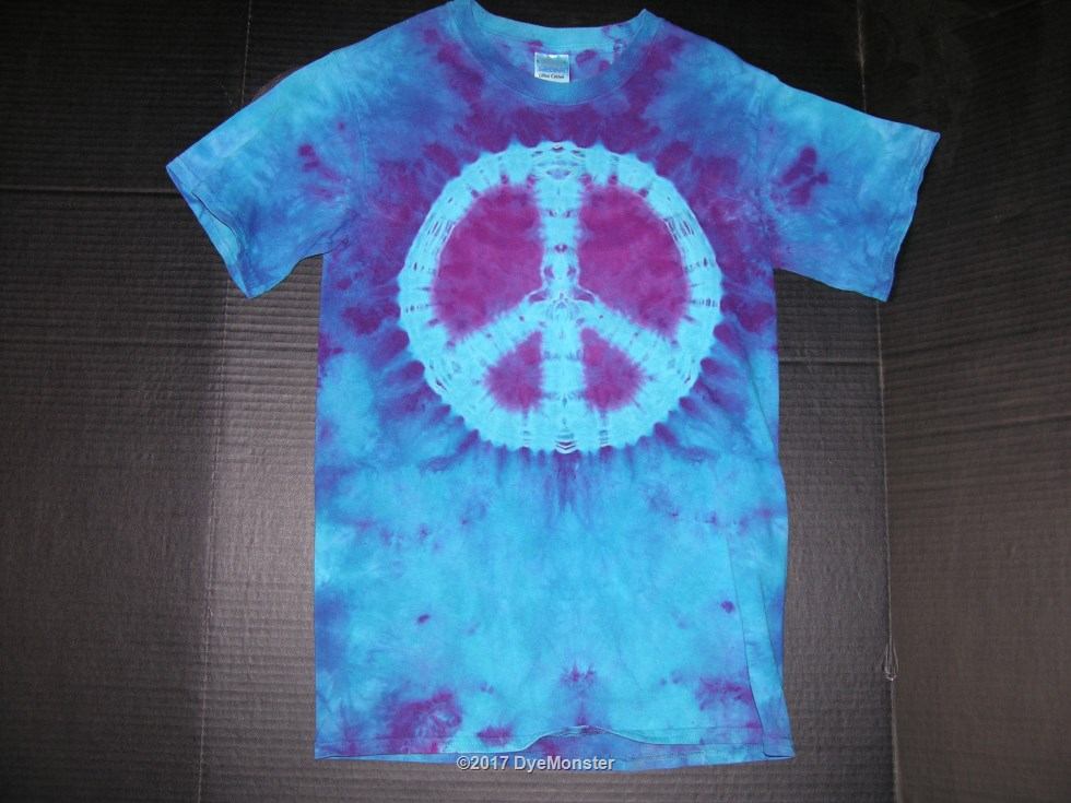 S Purple/Blue LWI Peace Sign