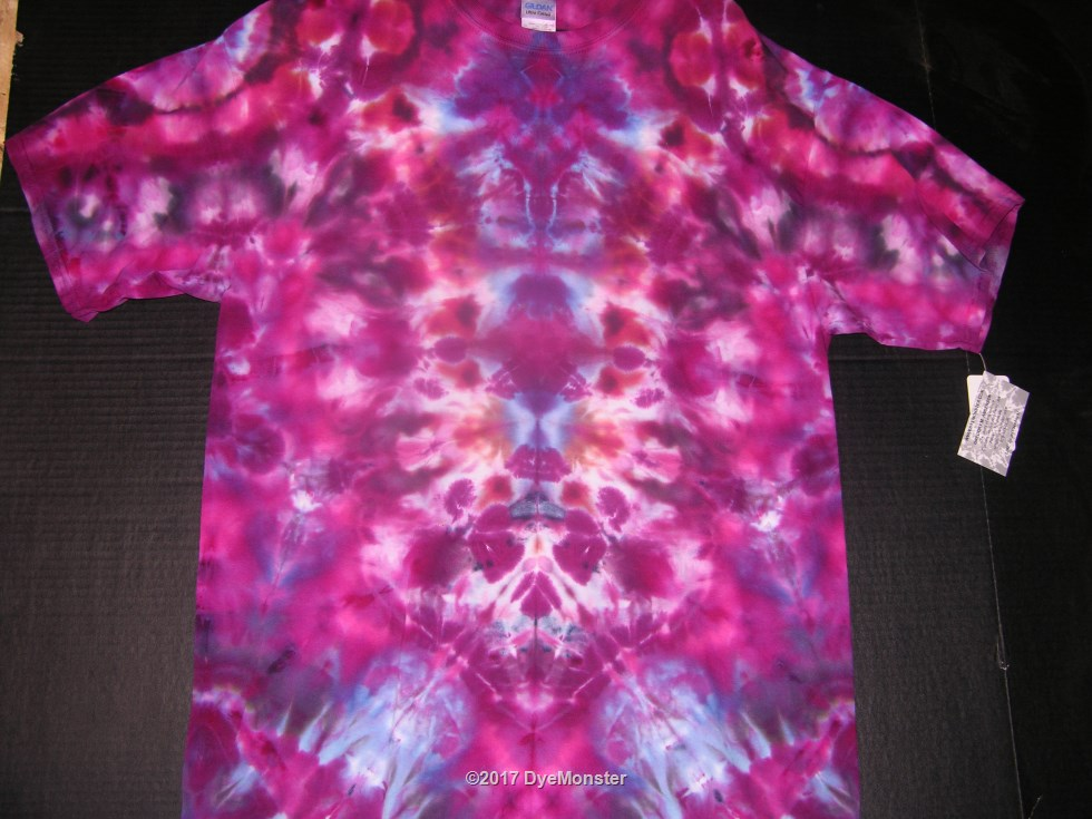 XL Red base Ice Tie Dye #3888