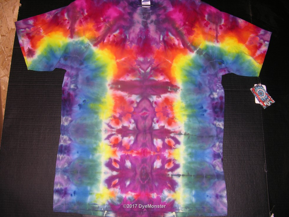 XL DyeMonster Ice Dye tee #3889