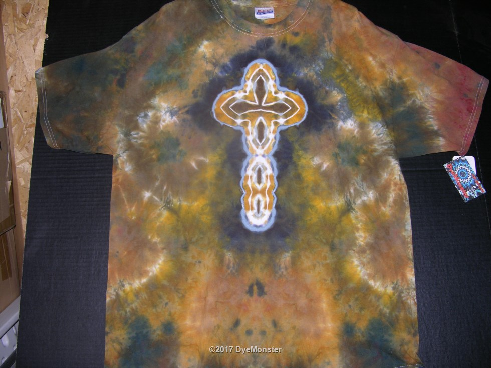 XL Camo Cross LWI-dyed tee #3891