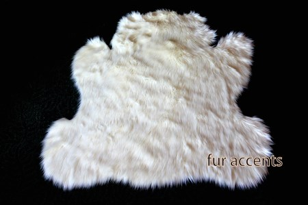 3' Faux Fur Carebear Teddy Bear Nursery Accent Rug
