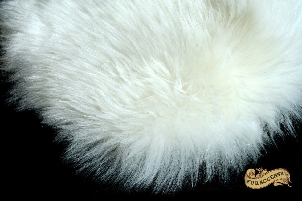 thick white mountain sheepskin faux fur rug - Faux Fur Rugs