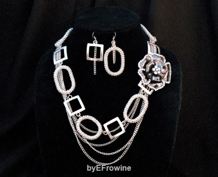 Rose of the Heart Silver set