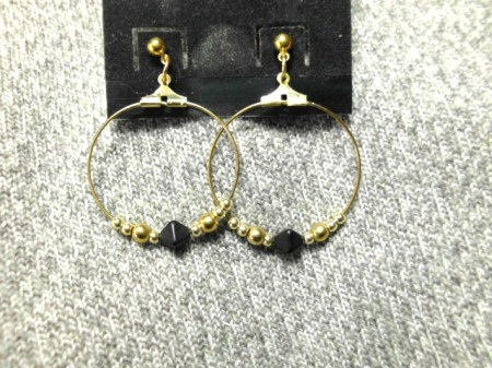 Hoop earrings #6