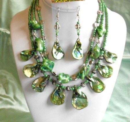 Treasures of the Sea collection-Sea Green set