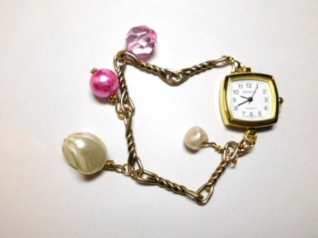 Gold watch bracelet #4