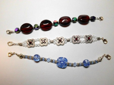 Silver Watch Bracelet set #6