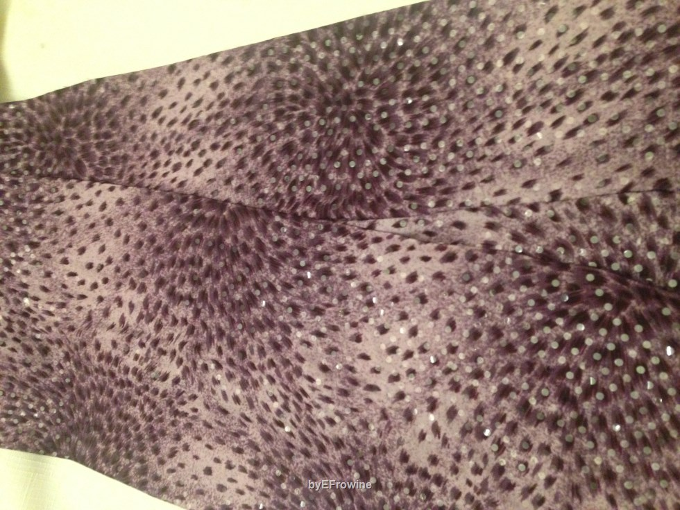 Purple Sparkle scarf