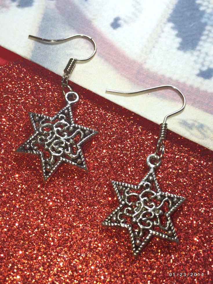 Christmas North Star Earrings & European Charm
