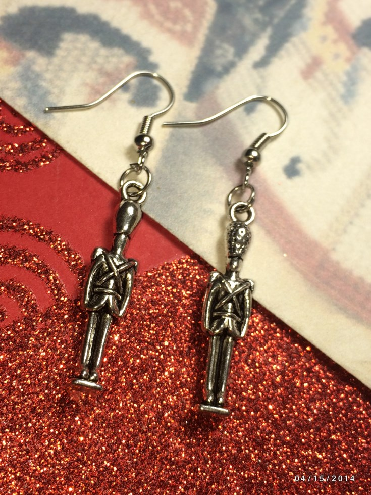 Christmas Toy Soldier Earrings