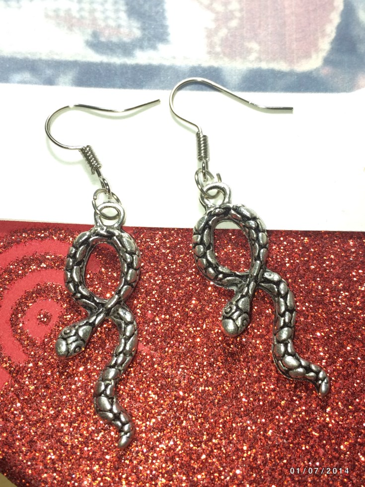 Creepy Cobra Earrings