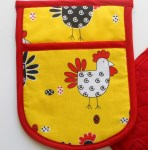 CHICKEN n EGG Potholders