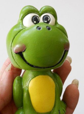 Freddie the Bobble Head Frog