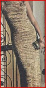 Stunning New Years Shimmer Gown Crochet Pattern