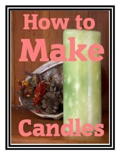How To Make Candles E Book