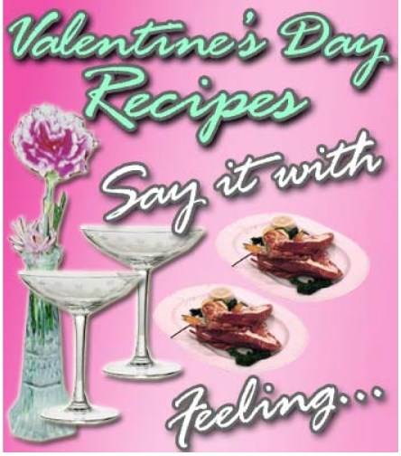 Valentines Day Recipes E -Book