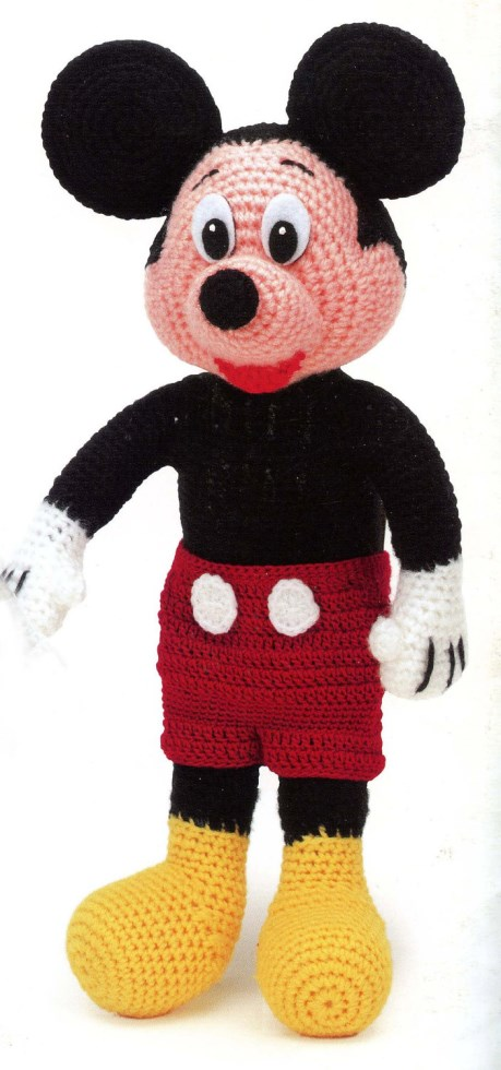 Disney Mickey Mouse Digital Crochet Pattern By 4evermickey Patterns
