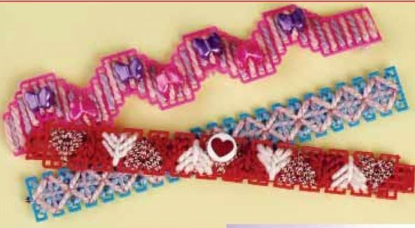 Cute Bracelets Digital Plastic Canvas Pattern