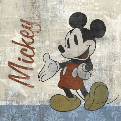 Vintage Mickey Needle Point Pattern