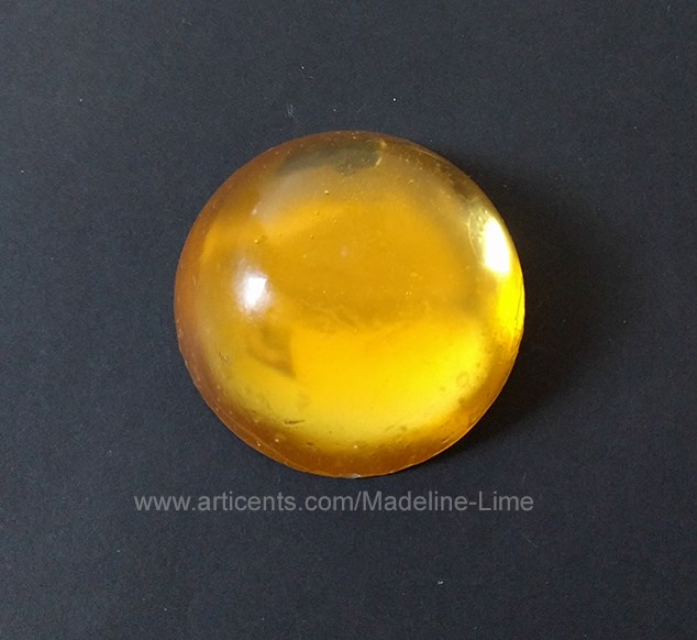 Yellow Cabochon Gem