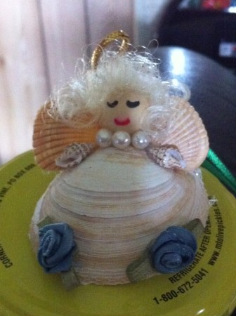 Seashell Blessing Angel